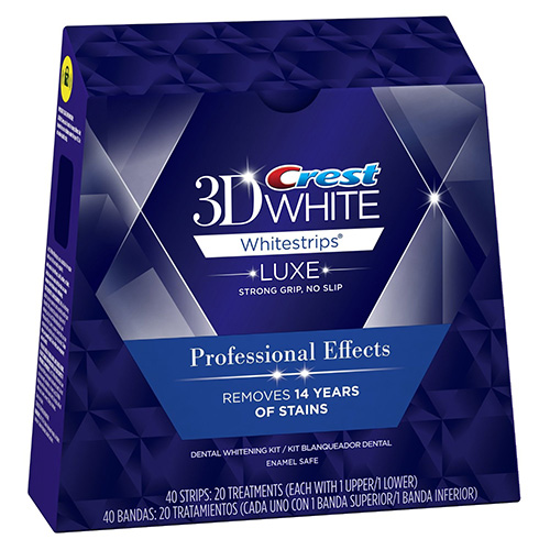 Crest 3D White Luxe Professional Effects cover